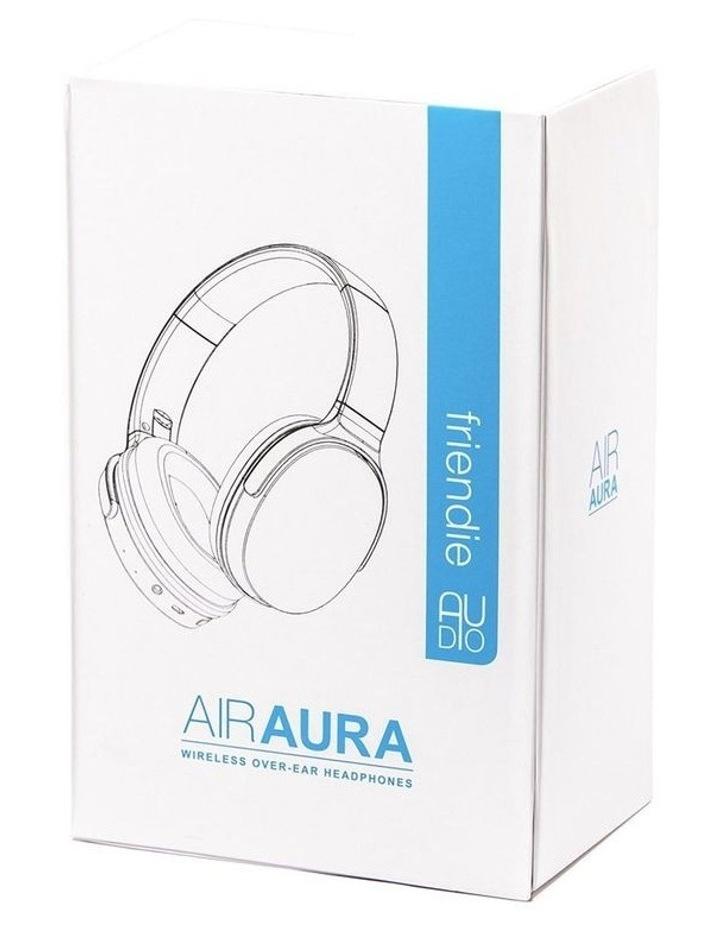 Air Aura Matte Black (Over Ear Wireless Headphones) image 7