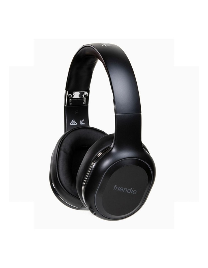 Air Duo Matte Black (Over Ear Wireless Headphones) image 3