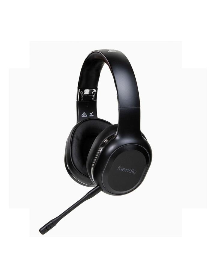 Air Duo Matte Black (Over Ear Wireless Headphones) image 4