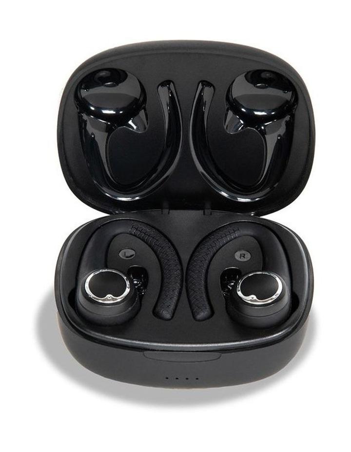 AIR Active 2.0 Matte Black Sport Earbuds (In Ear Wireless Headphones) image 2