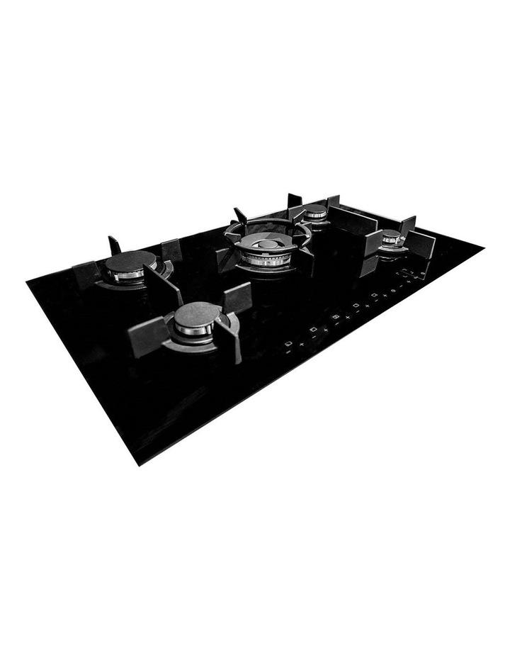 Electronic Gas on Black Krystal Glass Cooktop GCTEK9020 image 1