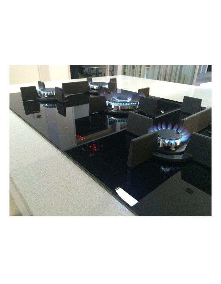 Electronic Gas on Black Krystal Glass Cooktop GCTEK9020 image 2