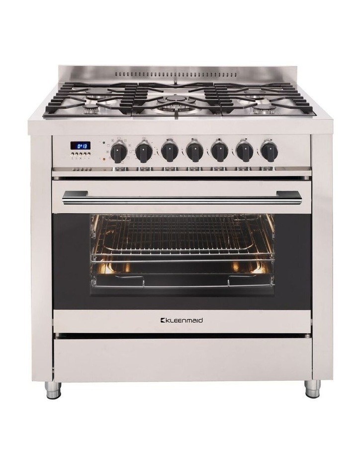 109L Stainless Steel Dual Fuel Oven 5 gas burners OFS9020 image 1
