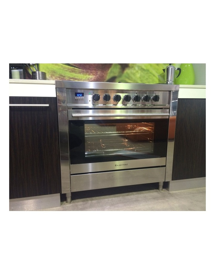 109L Stainless Steel Dual Fuel Oven 5 gas burners OFS9020 image 4