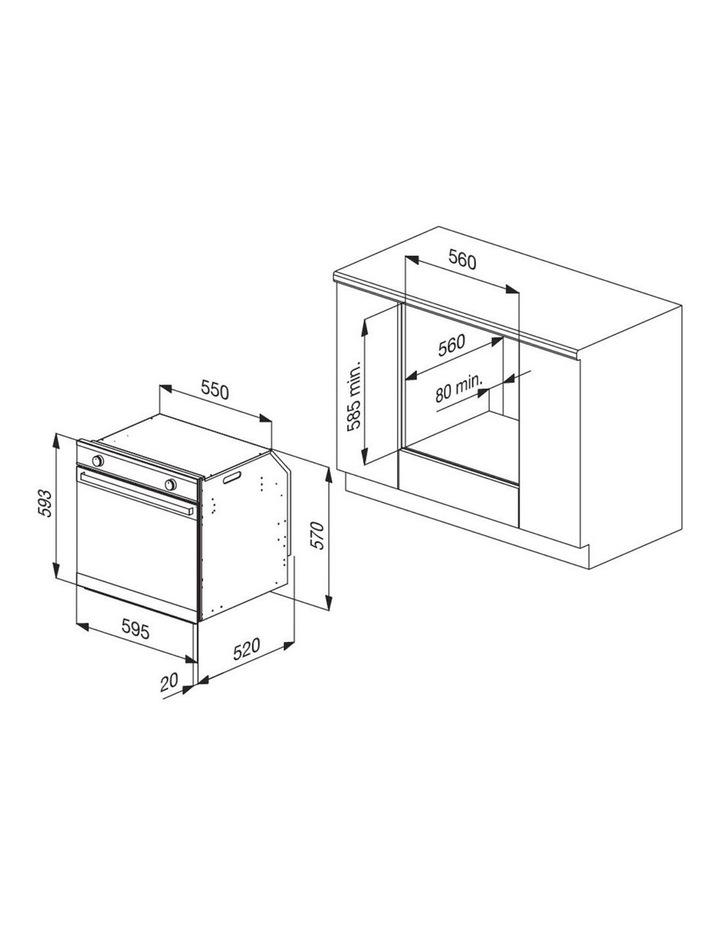 88 Litre Multifunction Oven OMF6032 image 6