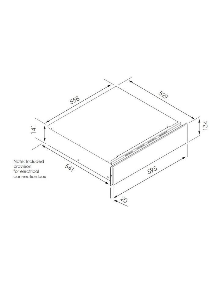Black Krystal Multifunction Culinary Drawer CDK15630 image 3