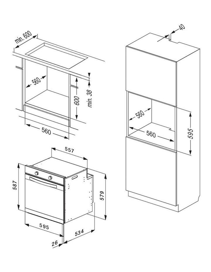 75 Litre Mulitfunction Oven OMF6030k image 5