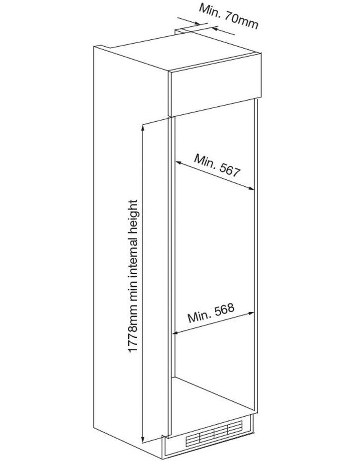 Integrated Top Mount 266L Refridgerator Freezer CRZ25511 image 6