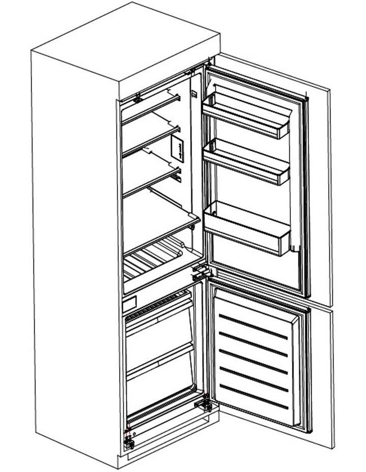 Integrated Top Mount 266L Refridgerator Freezer CRZ25511 image 7