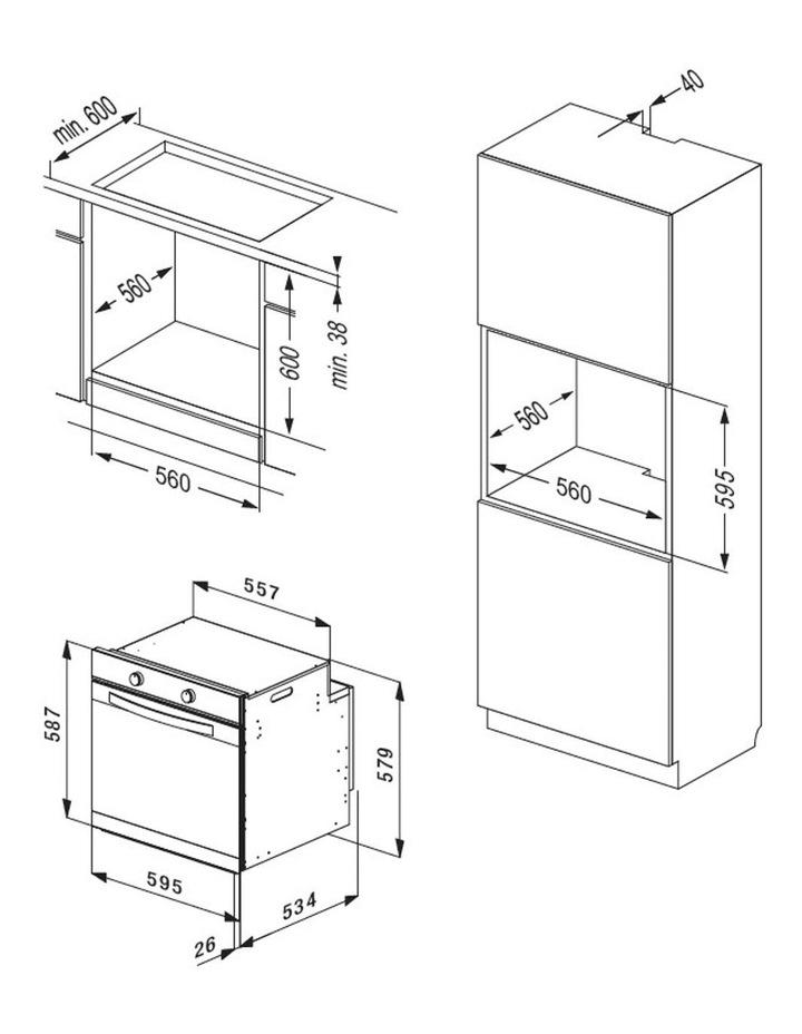 XL 75 Litre Multifunction Oven OMF6012K image 2