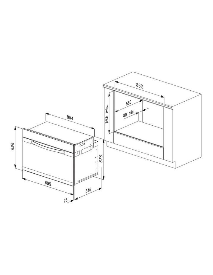 XXL 133L Multifunction Oven 90cm OMF9032 image 4
