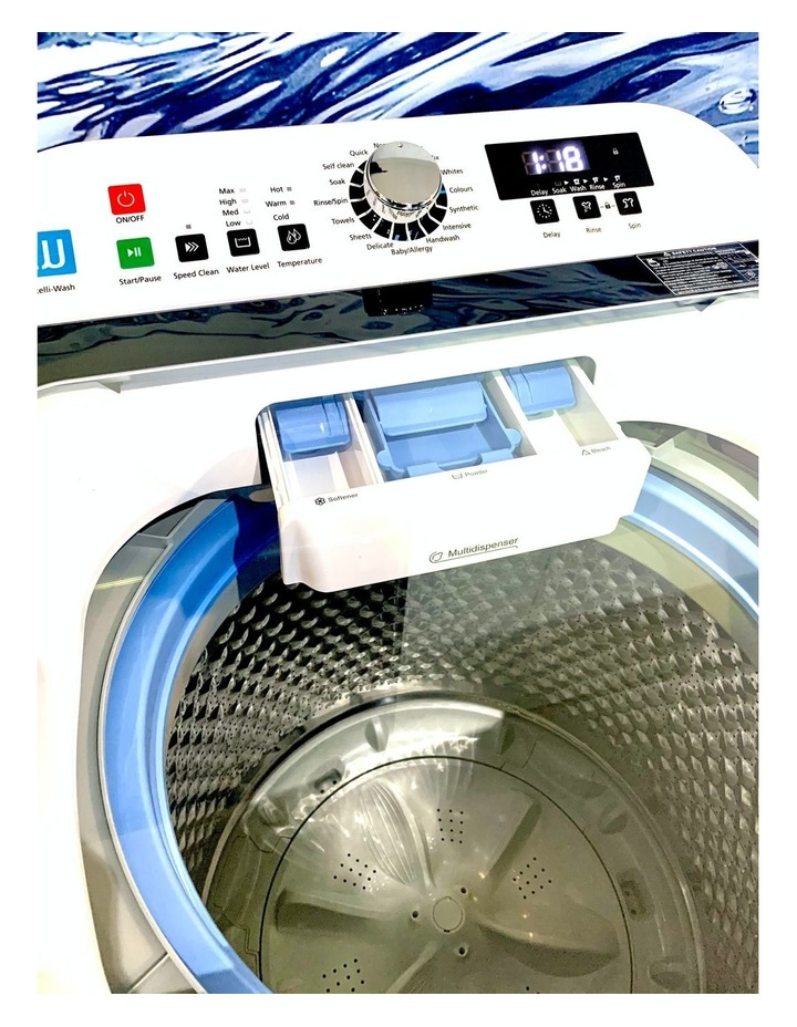 Kleenmaid Best Heavy Duty 12kg Top Load Washing Machine image 2