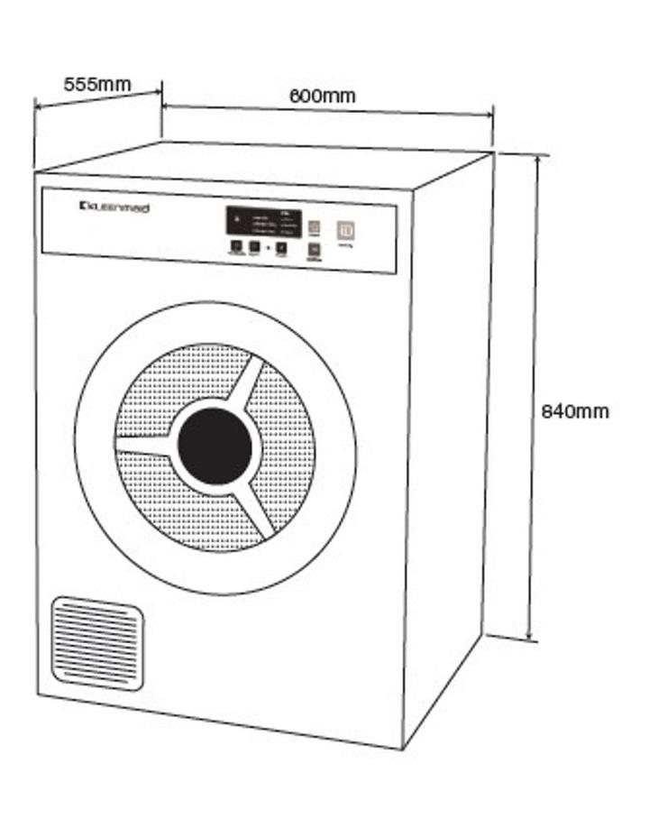 Kleenmaid Best Sensor Controlled Vented Dryer 7kg LDVF70 image 5