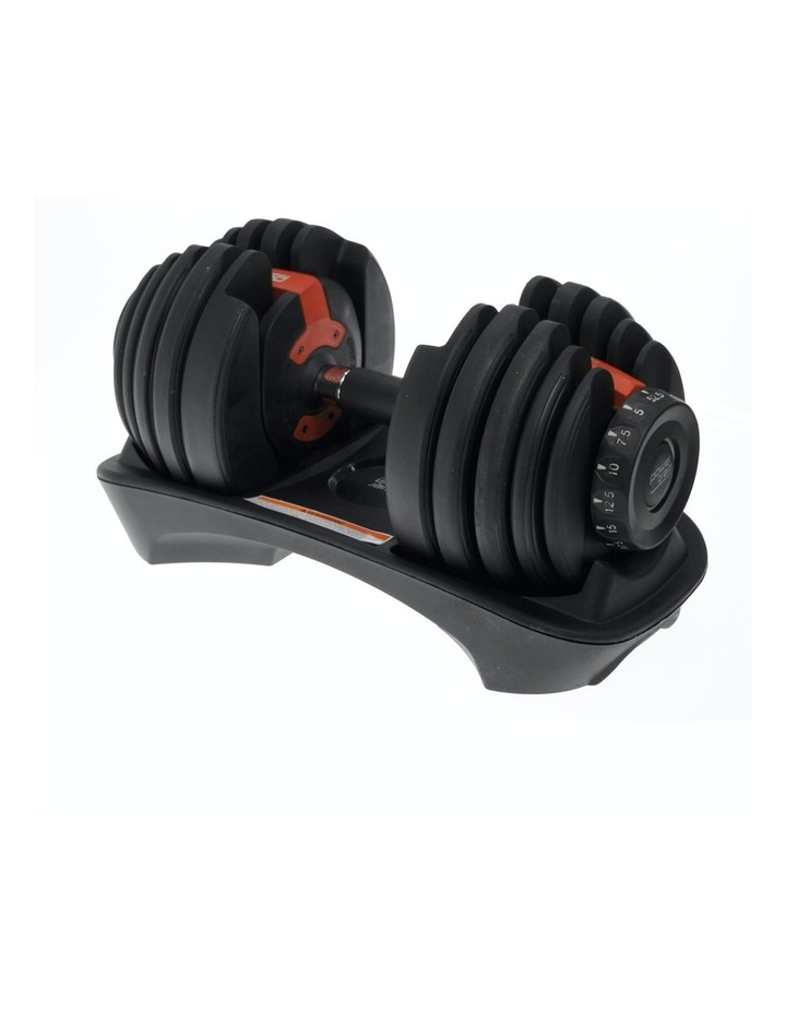 Powertrain 24kg Adjustable Dumbbell Home Gym Exercise Weights Free Workout image 2