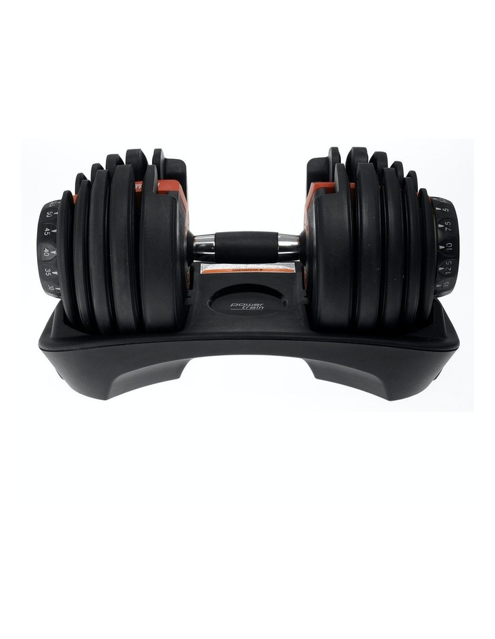 Powertrain 24kg Adjustable Dumbbell Home Gym Exercise Weights Free Workout image 6