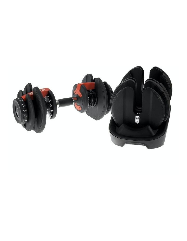 Powertrain Adjustable Dumbbells Set Home Gym Exercise Free Weights - 48kg image 4