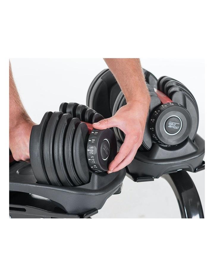 Powertrain Adjustable Dumbbells Set Home Gym Exercise Free Weights - 48kg image 5