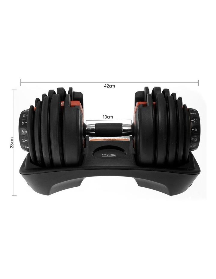 Powertrain Adjustable Dumbbells Set Home Gym Exercise Free Weights - 48kg image 7