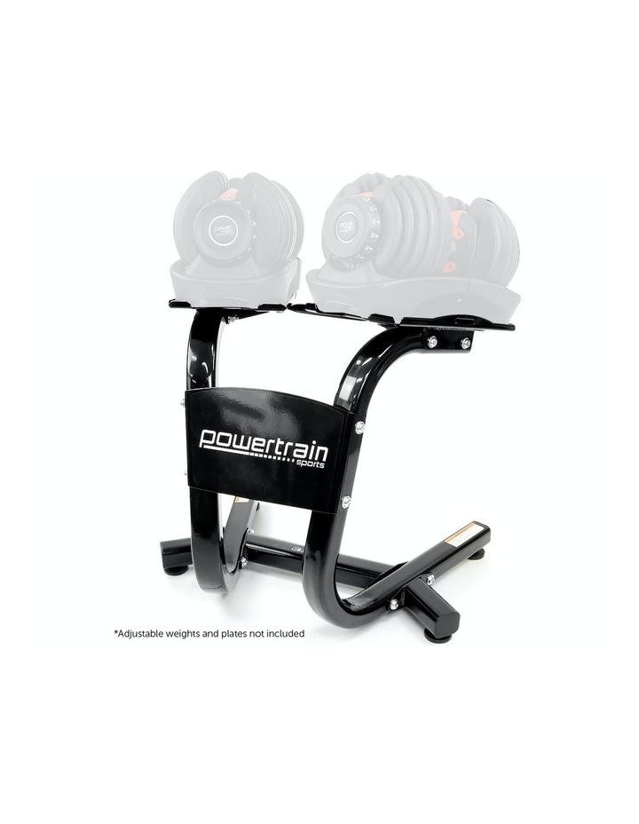 Powertrain Adjustable Dumbbells Stand For 24kg 40kg Home Gym Exercise Equipment image 1