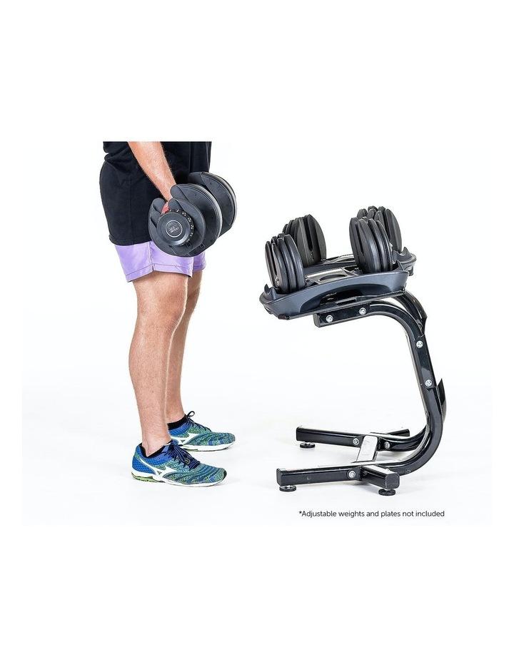 Powertrain Adjustable Dumbbells Stand For 24kg 40kg Home Gym Exercise Equipment image 5