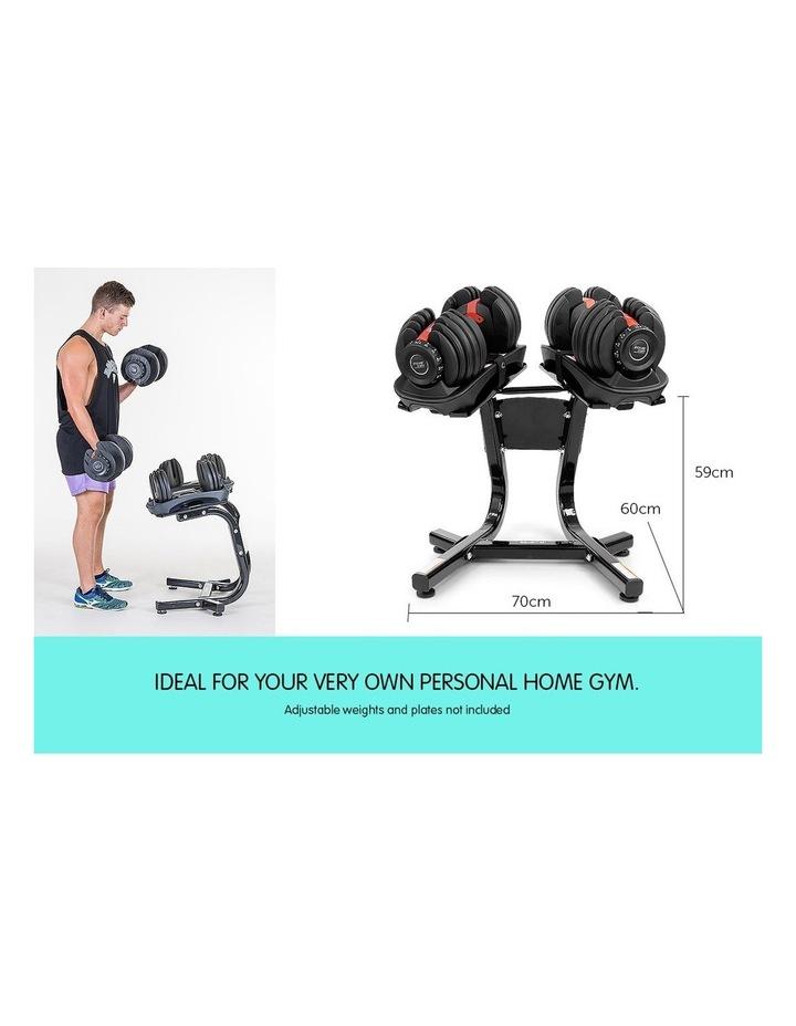 Powertrain Adjustable Dumbbells Stand For 24kg 40kg Home Gym Exercise Equipment image 6
