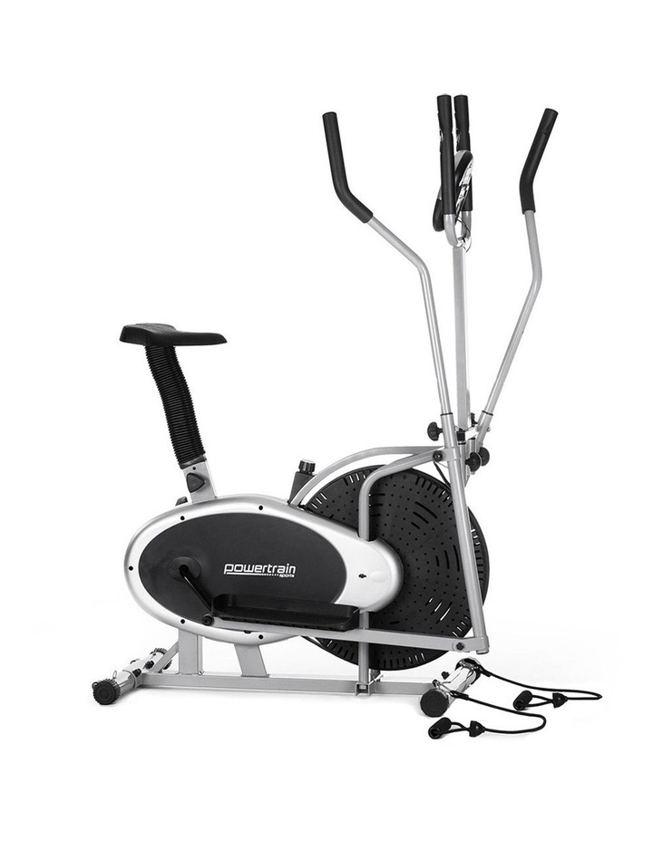 Powertrain Elliptical Cross Trainer Exercise Bike Home Gym Bicycle Resistance image 1