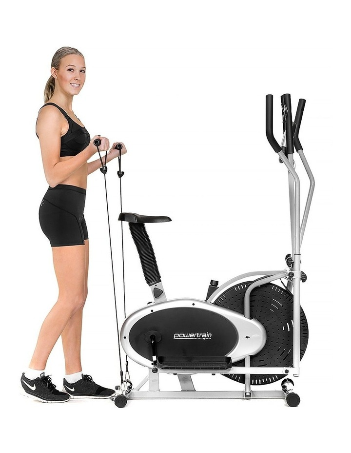 Powertrain Elliptical Cross Trainer Exercise Bike Home Gym Bicycle Resistance image 7