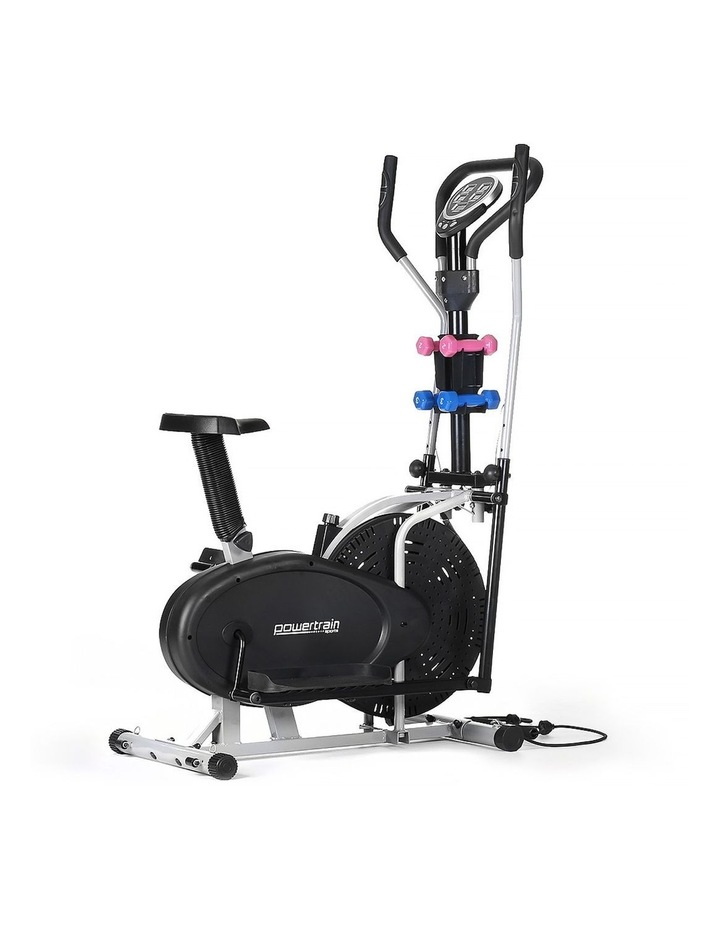 Powertrain Elliptical Cross Trainer Exercise Home Gym Stepper Fitness Bike image 1