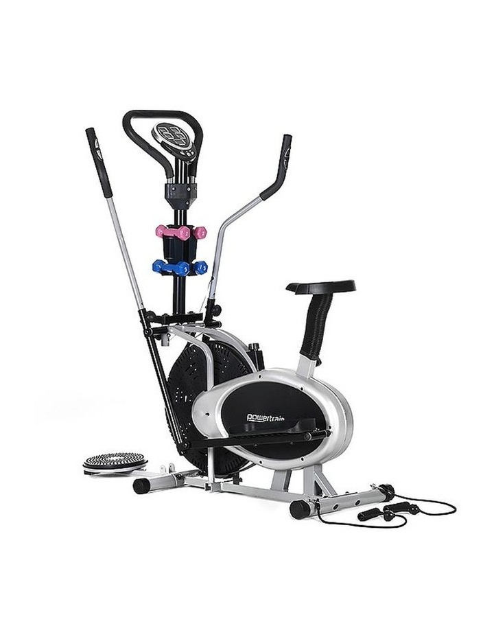 Powertrain Elliptical Cross Trainer Exercise Home Gym Stepper Equipment Bike image 1