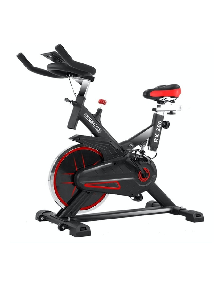 Powertrain Spin Bike Flywheel Rx-200 Exercise Machine Home Gym Cardio Red image 1