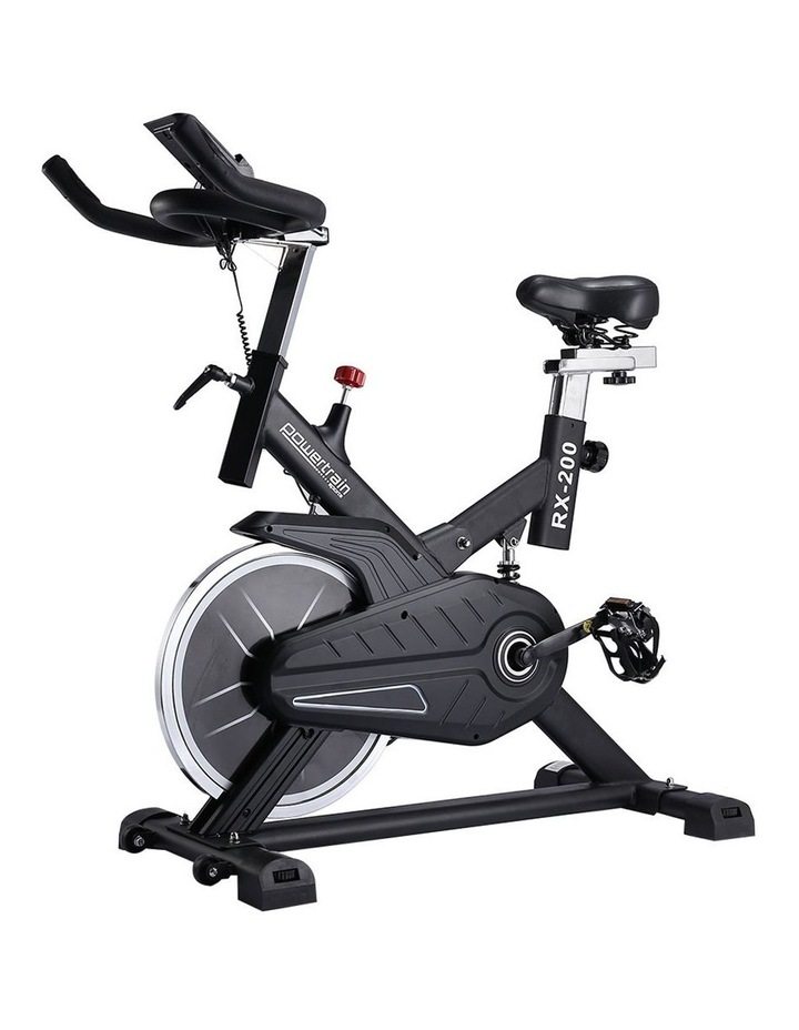 Powertrain Spin Bike Flywheel RX200 Home Gym Cardio Black image 1