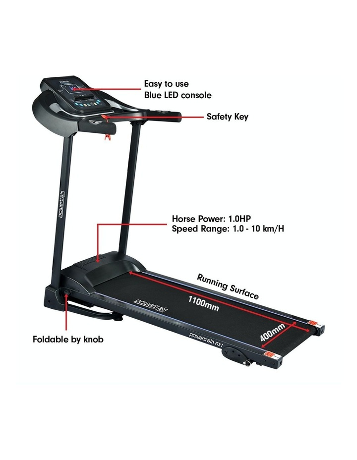 Powertrain Treadmill MX1 Cardio Running Exercise Fitness Home Gym Equipment image 2
