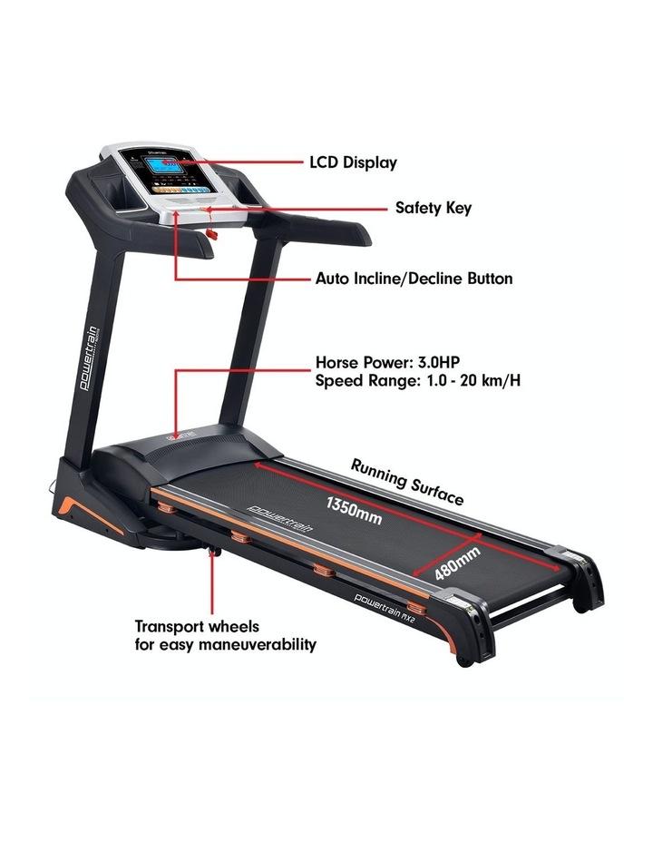 Powertrain Treadmill MX2 Cardio Running Exercise Fitness Home Gym Equipment image 4