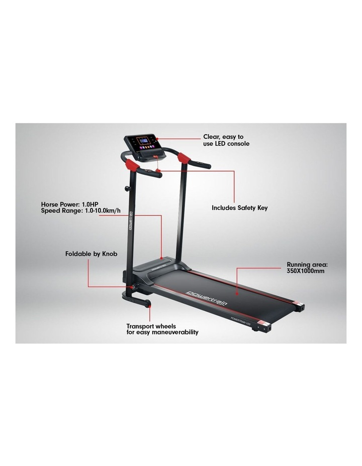 Powertrain Treadmill V20 Cardio Running Exercise Home Gym Equipment image 3