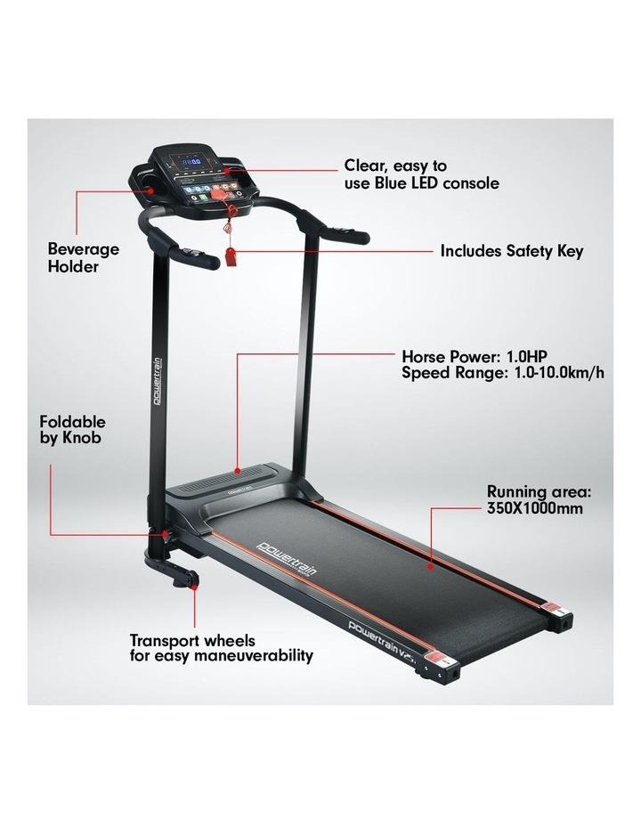 Powertrain V25 Treadmill Running Fitness Exercise Machine Home Gym Equipment image 4