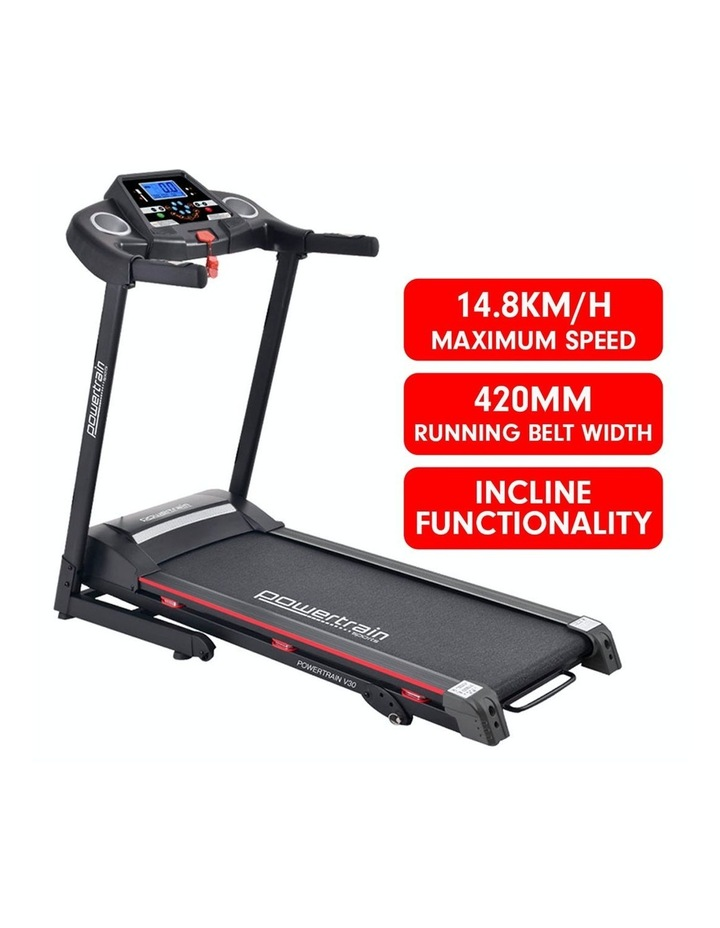 Powertrain V30 Electric Treadmill Exercise Running Workout Machine Equipment image 2