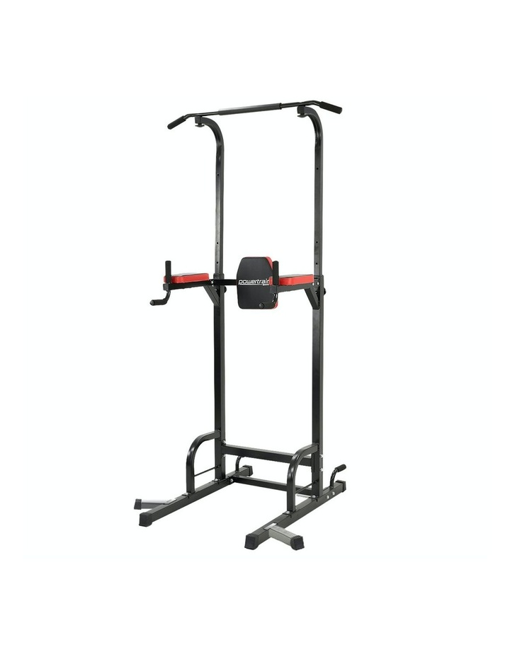Powertrain Power Tower Chin Abs Dip Pull Up Multistation Home Gym Exercise image 1