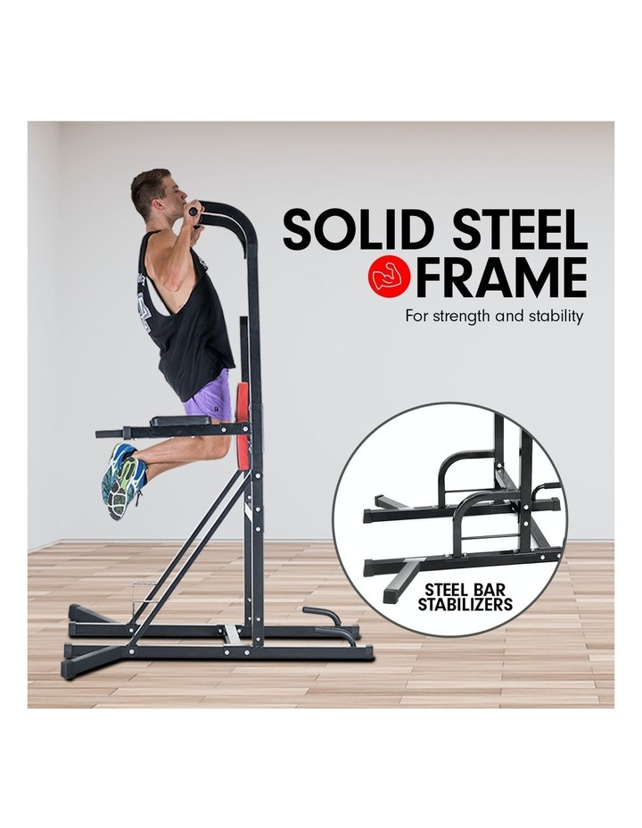 Powertrain Power Tower Chin Abs Dip Pull Up Multistation Home Gym Exercise image 2