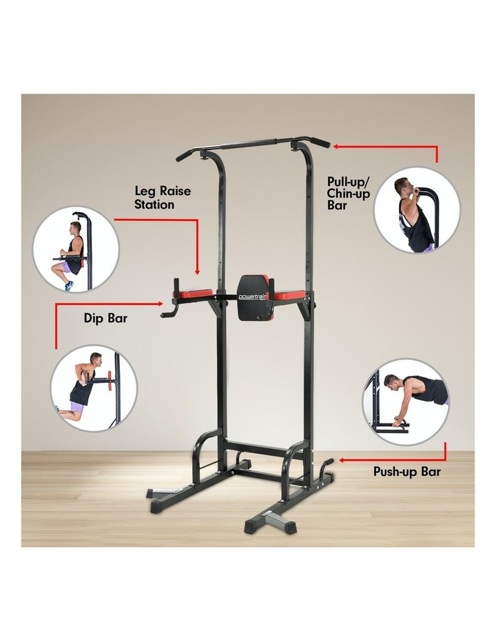 Powertrain Power Tower Chin Abs Dip Pull Up Multistation Home Gym Exercise image 5