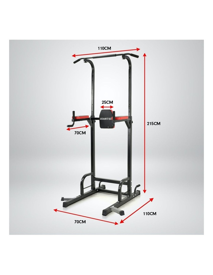 Powertrain Power Tower Chin Abs Dip Pull Up Multistation Home Gym Exercise image 6