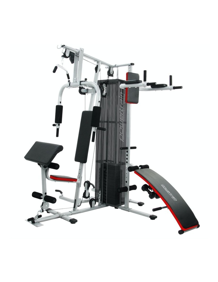 Multi Station Home Gym Equipment in Silver image 1