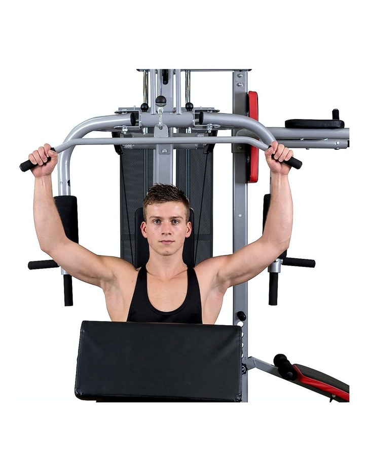 Multi Station Home Gym Equipment in Silver image 4