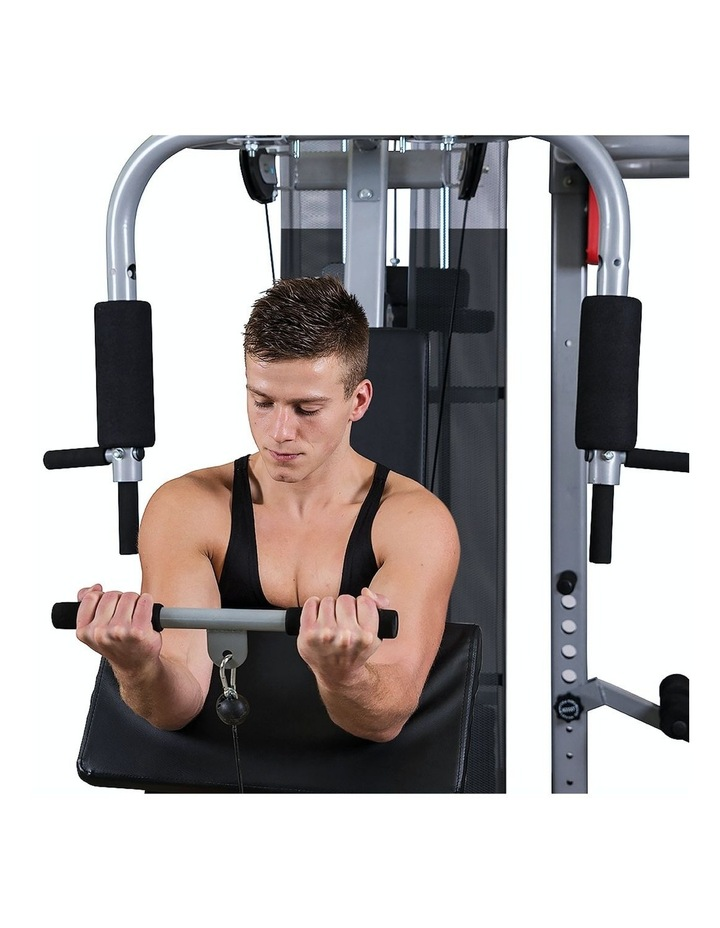 Multi Station Home Gym Equipment in Silver image 6