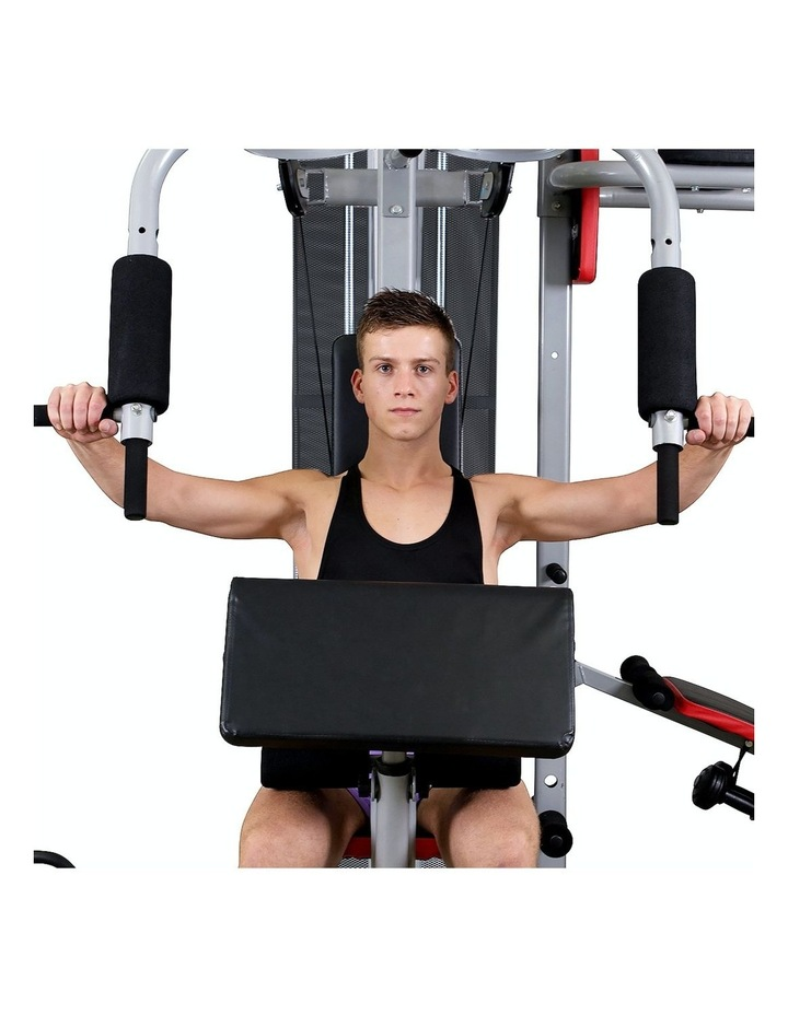 Multi Station Home Gym Equipment in Silver image 7