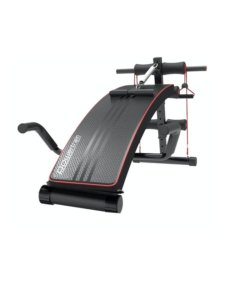 Powertrain Sit Up Bench Incline Decline Home Gym Weight Press Abs image 1