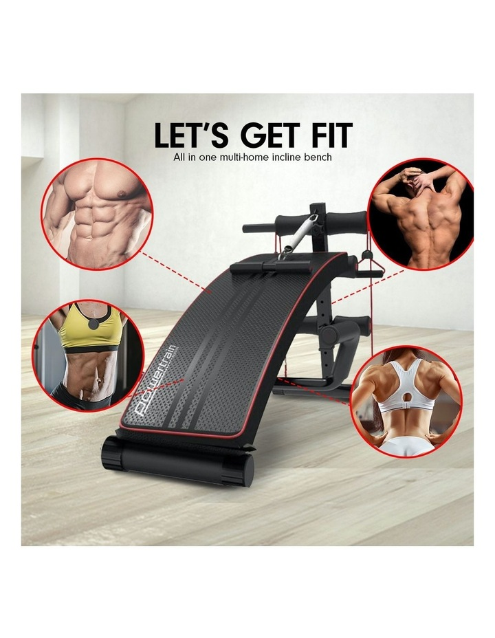 Powertrain Sit Up Bench Incline Decline Home Gym Weight Press Abs image 2