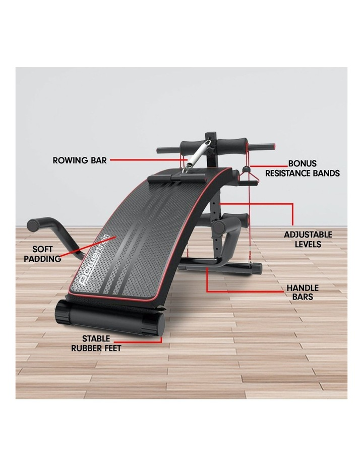 Powertrain Sit Up Bench Incline Decline Home Gym Weight Press Abs image 7