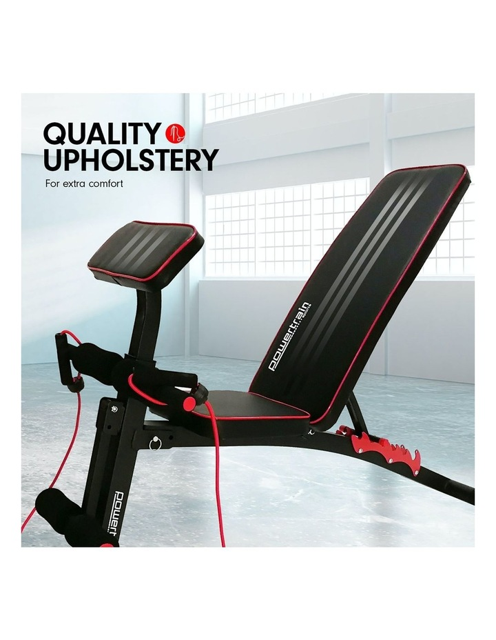Powertrain Adjustable Home Gym Bench Press Situp Abs Exercise Incline Weight Decline image 7