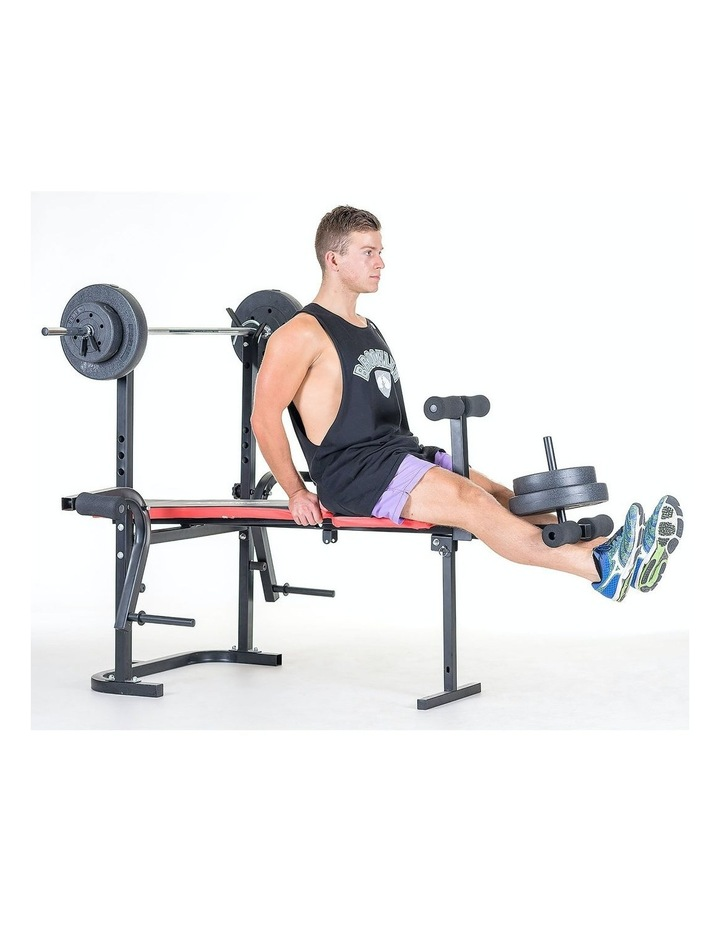 Home Gym Workout Bench Press with 67kg Weights image 3