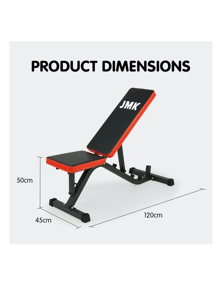 Adjustable Flat Incline Decline Home Gym Weight Bench image 4